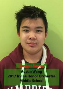 Austin Wang Irvine