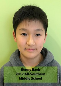 Benny Baek All-Southern