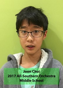 Joon Choi All-Southern