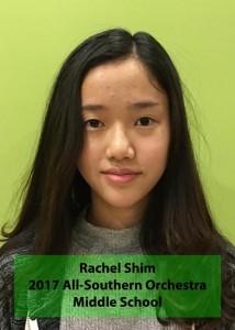 Rachel Shim southern